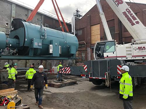 BIG Boilers Arrive!