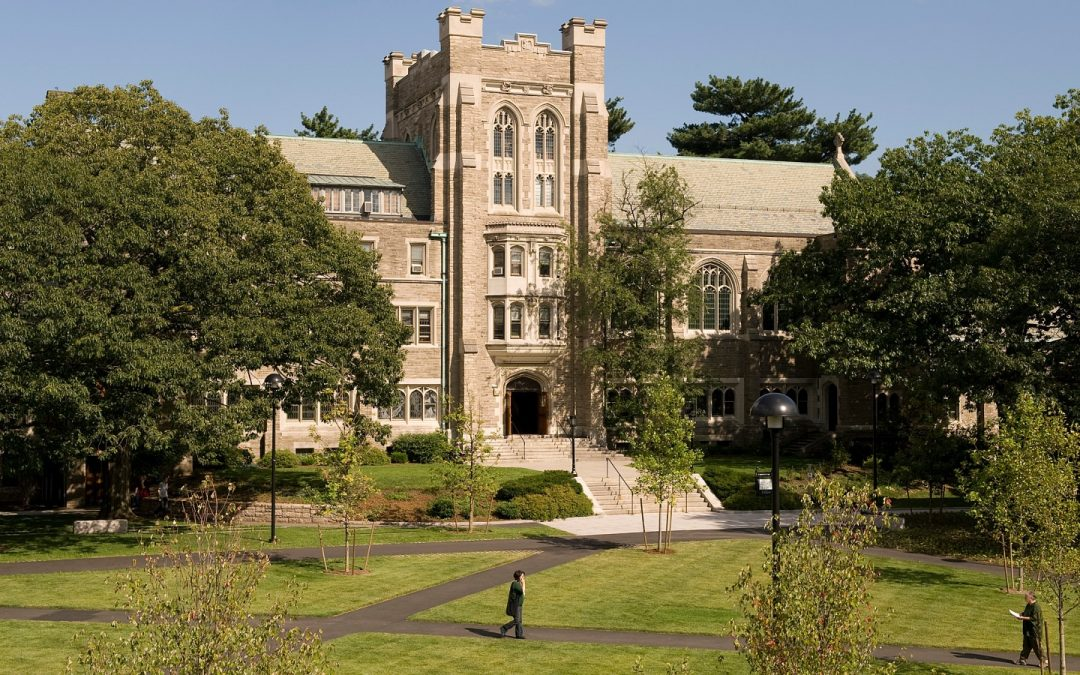 Harvard University's Andover Hall